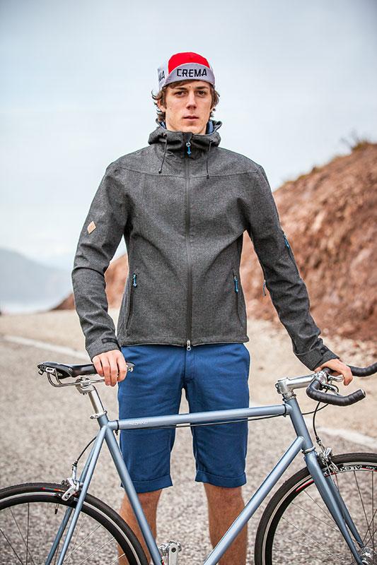 Triple2 - Jacke FLEEK, Hose BUEX Fahrradbekleidung