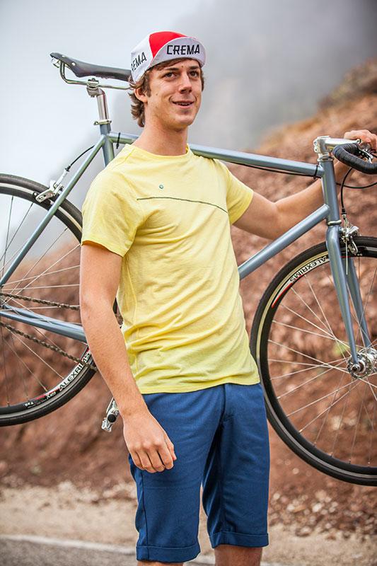 Triple2 - Shirt TUUR und Hose KORT - Fahrradbekleidung