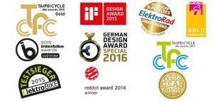 Stromer s-Pedelec Auszeichnungen/Awards