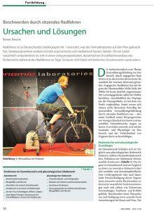 Artikel Urologe Staudte über Beschwerden beim Radfahren