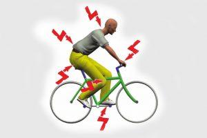 Beschwerde-Punkte beim Radfahren