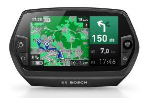 Bosch Nyon Navigation Kartenabbilung