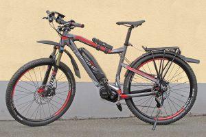 Umbau Haibike MTB zu Trekkinbike