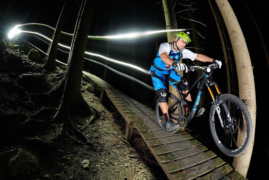 Lupine Helmlampe MTB Bikeparke