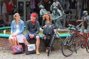 City-Bike Haberland Radtaschen Junge Menschen