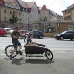 Urban Arrow - erste Testfahrt bei Schmidt Pdelec