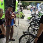 Altenfurter-Boulevard mit Life-Truck Schmidt Pedelec