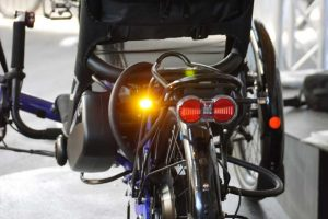 Blinker bei mehrspurigen Fahrrädern