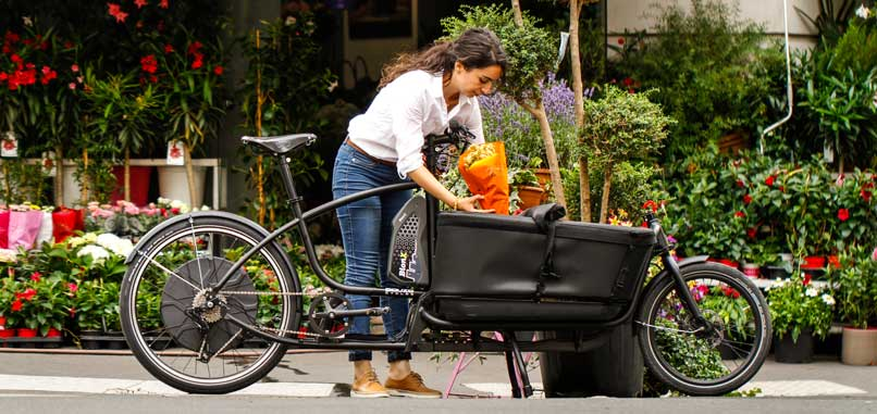 Douze Cycles Blumentransport