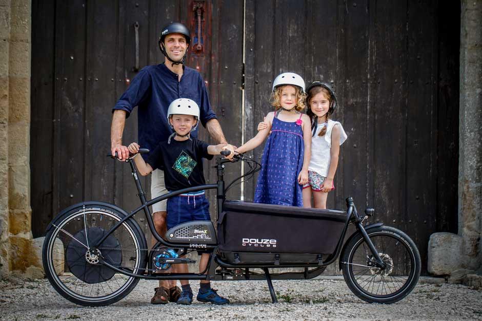 Douze Cycles Familienlastenrad