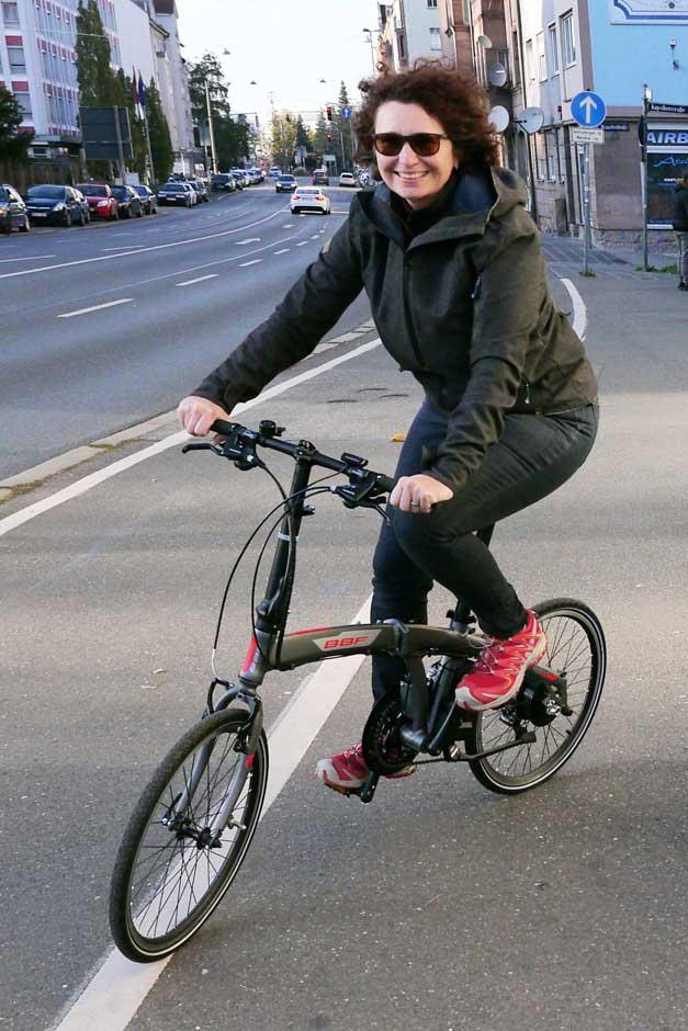 Faltrad Monaco in Nürnberg