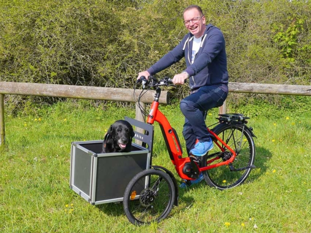 Velo de Ville Add Bike Hundetransport