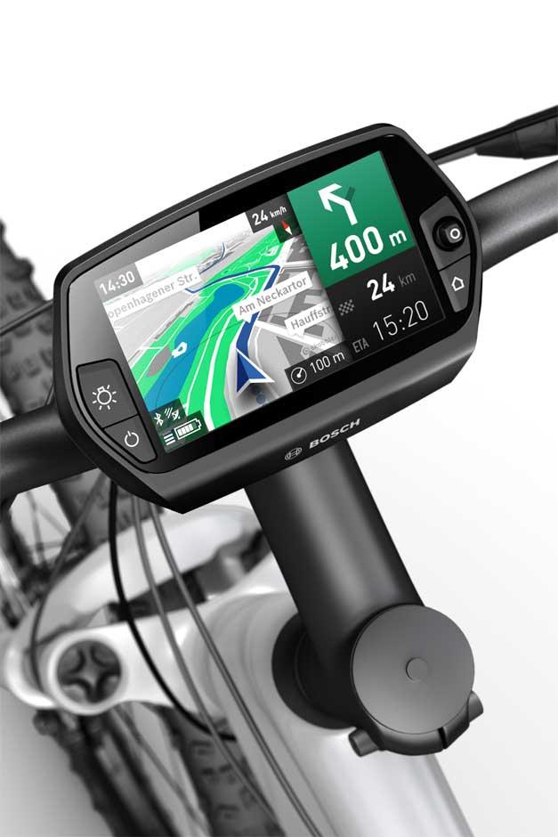 Bosch Nyon integriertes Navigationssystem