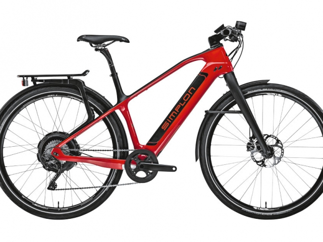 Simplon Silkcarbon Neodrive in rot