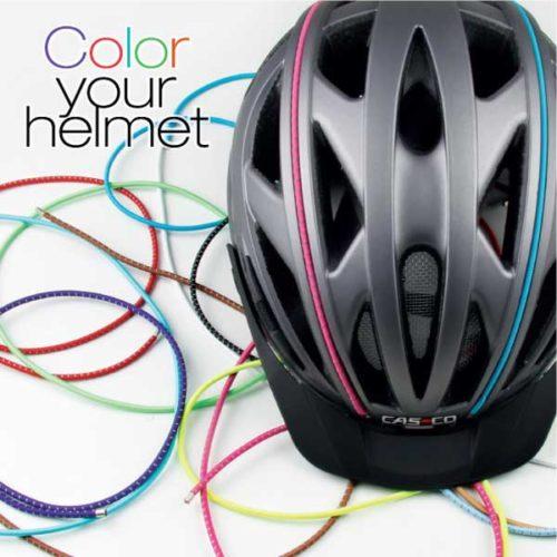 Casco farbige Helmbänder