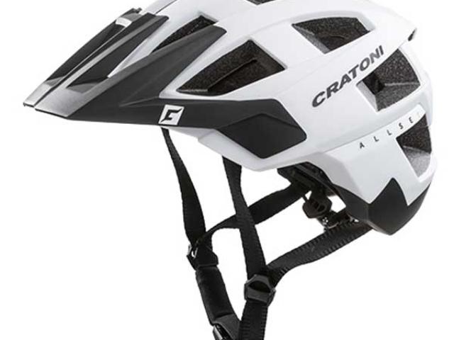 Cratoni Allset weiß schwarz