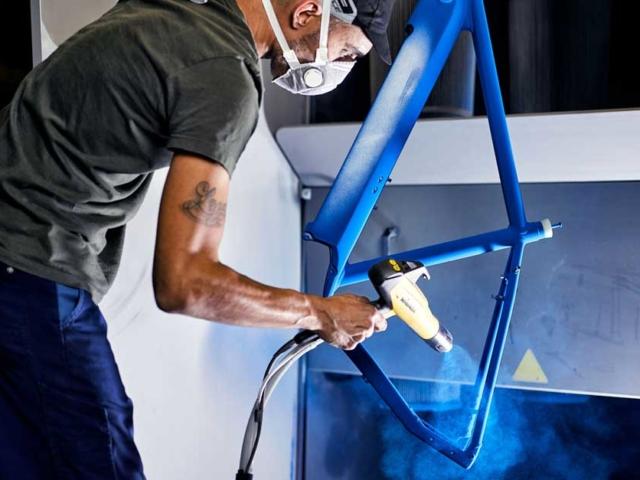 MTB-Cycletech Pulverbeschichtung