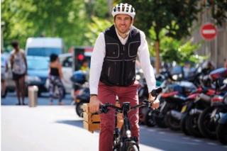 Helite Airbag für Radfahrer