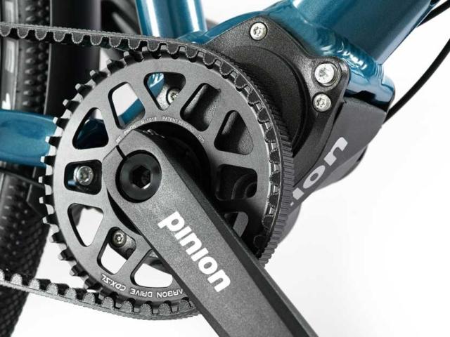 MTB-Cycletech Souplesse Pinion und Riemenantrieb